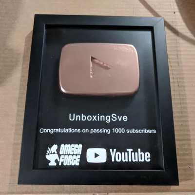 Subscriber Play button